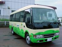山古志を走るバス・クローバーバス
